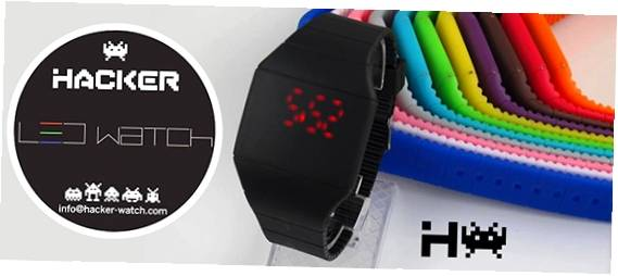 Hacker Led Watches