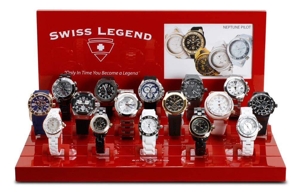 Espositore Swiss Legend